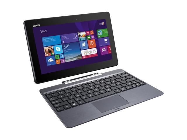 ASUS T100TAM Detachable 2-in-1 Touch Laptop with Dock / 10.1