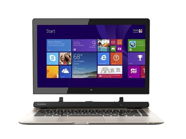 Toshiba Satellite Click 2 2-in-1 Detachable Touch-Screen Laptop / 13.3