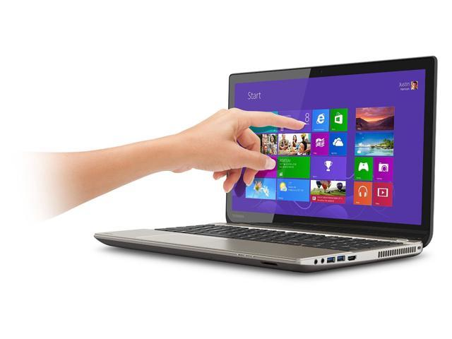 Toshiba Satellite P55T 4K Touchscreen Laptop / 15.6-Inch 4K Touch Display / i7-4710HQ / R9 M265X 2GB Dedicated Graphics / 12GB / 1TB / Blu-ray ...