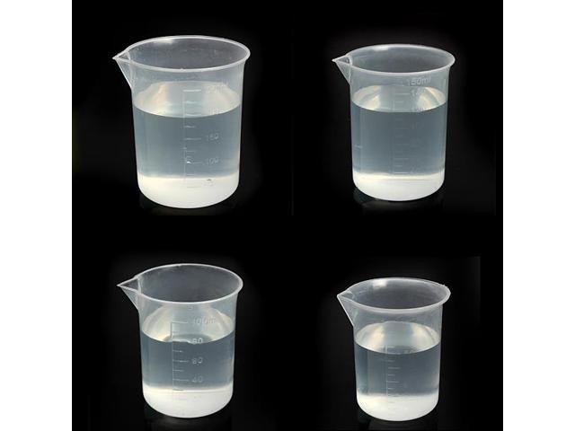 Laboratory Kitchen Test Plastic Beaker Measuring Cup 50ml