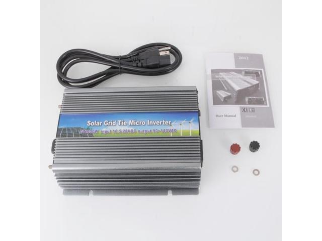 10.5-28V DC/AC 400W Grid Tie Power Inverter for Solar Panel Power System GTI-400W
