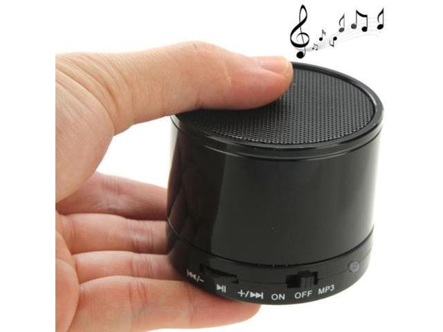 WB-02 Mini Bluetooth Speaker, Built-in Rechargeable Battery, Support Handsfree Call (Black)