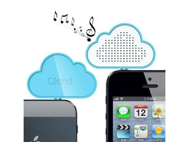 Mini Cloud Music Travel Bass Buddy Speaker for iPod / iPhone 6 / iPhone 5, Samsung S3 / S4 / S5 / Note 2 and ...