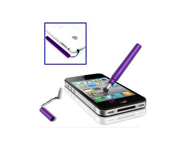Metal Touch Screen Stylus for iPhone 6 / 6 Plus, 5 / 5S / 5C, 4 / 4S, iPad Air / iPad 4 / iPad ...