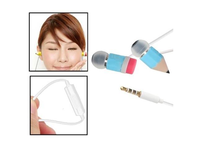 Magic Pencil Stereo In-ear Headphone with Microphone and Control Talk, Suitable for iPhone 5 & 5S & 5C , iPhone 4 & 4S , iPhone ...