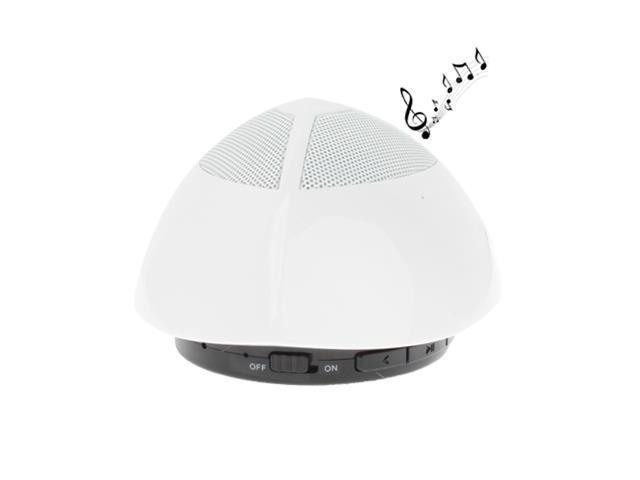 UFO Shape Bluetooth Speaker, Built-in Rechargeable Battery, Size: 87.5 x 87.5 x 57mm (White)