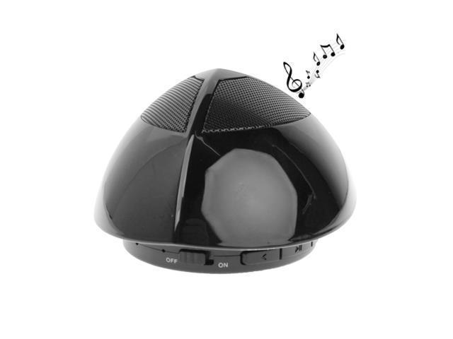 UFO Shape Bluetooth Speaker, Built-in Rechargeable Battery, Size: 87.5 x 87.5 x 57mm (Black)