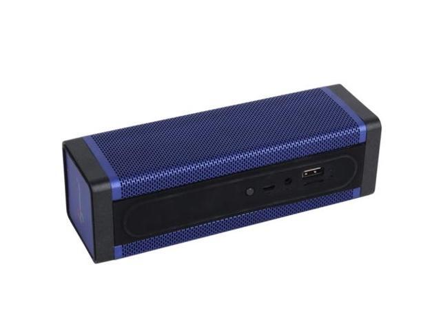 Rectangle Style Bluetooth Speaker, Support TF Card / AUX / USB Port (Dark Blue)