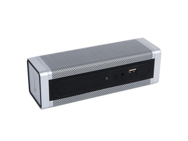 Rectangle Style Bluetooth Speaker, Support TF Card / AUX / USB Port (White)