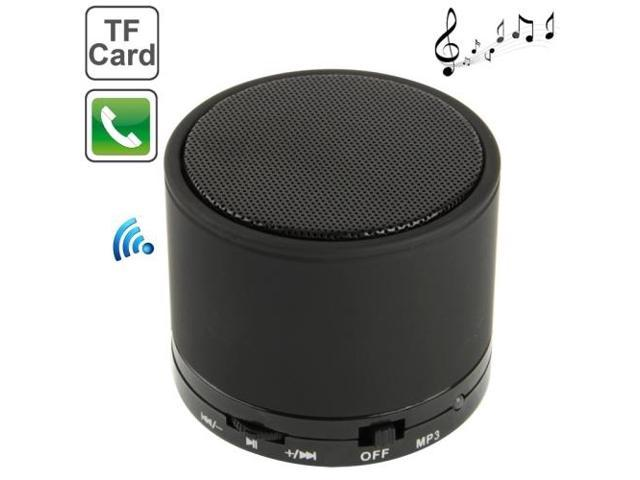 S10 Mini Bluetooth Speaker, Built-in Rechargeable Battery, Support Handsfree Call (Black)