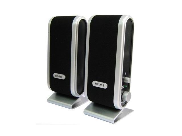 USB Port Multimedia Speaker (Black)
