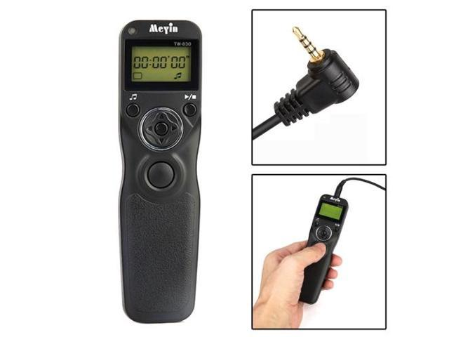 Timer Remote Control for Panasonic DMC-FZ50 / DMC-FZ50K / DMC-FZ50S / DMC-FZ30 / DMC-FZ150 / DMC-FZ30K / DMC-FZ30S, Leica DIGILUX 2 / DIGILUX 3 ...