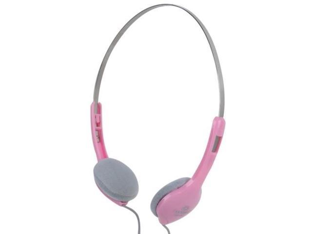 LUPUSS Universal Stereo Headset with Volume Control for Computer, Cable Length: about 2m (Pink)