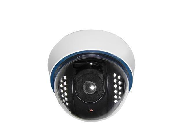 1/3 SONY Color 500TVL Dome CCD Camera, IR Distance: 15m