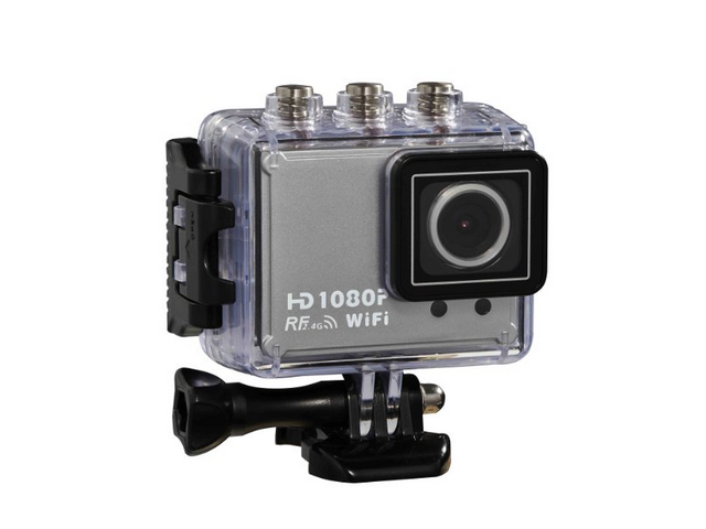 1.5'' TFT Full HD Waterproof Sports DVR Action Video Camera MOV H.268 With Wifi and Remote Control
