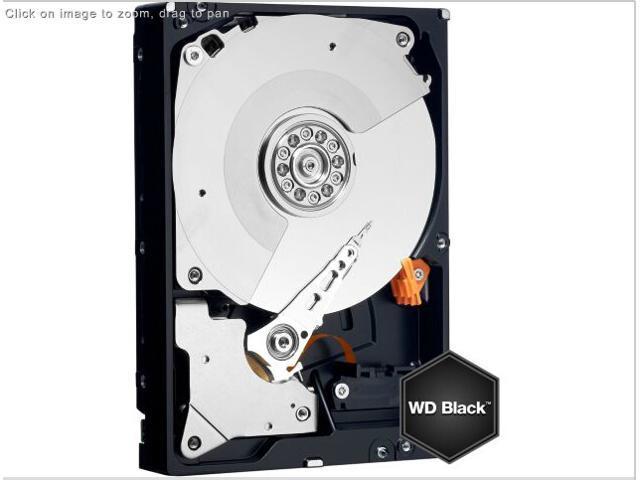Western Digital 4TB SATA III 7200 RPM 64 MB Cache Bulk/OEM Desktop Hard Drive, Black, WD4003FZEX