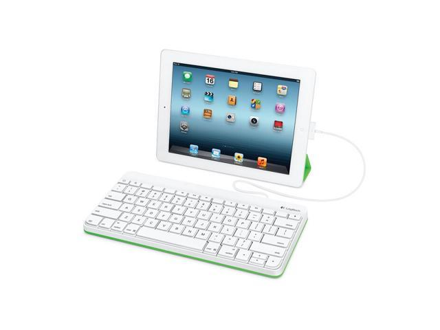 Logitech Wired Keyboard for iPad with 30-Pin Connector (920-006340)