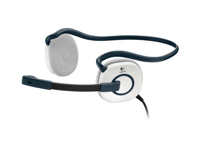 Logitech Stereo Headset H130 - Cloud White 981-000345