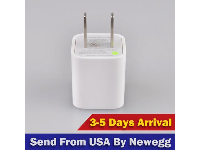 5 PCS a lot USB AC Universal Power Safe Home Wall Travel Charger Adapter for iPhone 6 Plus 4 5 4S Samsung Galaxy S 2 ...