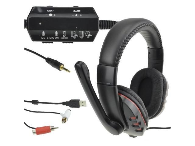 elcPark Multi Stereo Live Headphone USB Gaming Headset For PS3 PS4 Xbox360 PC MAC w/ MIC Ship from US