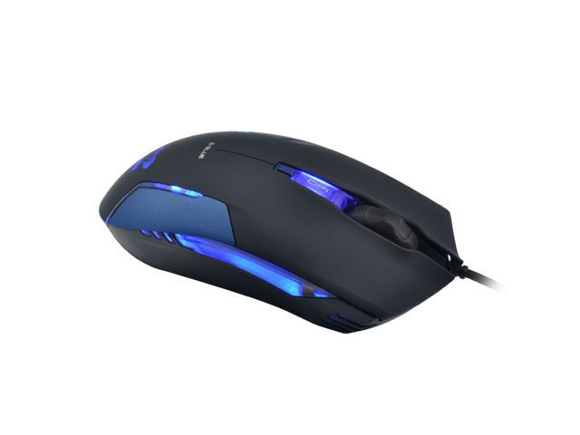 Blue E-3lue E-Blue Cobra II 1600DPI High Precision Gaming LED Mouse (Bigger scroll wheel) EMS151BL