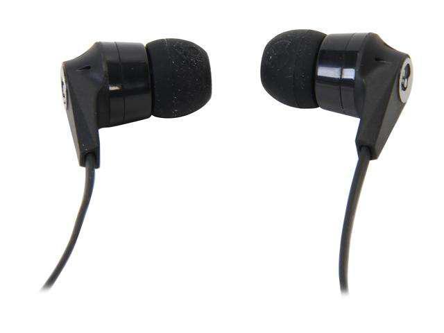 Skullcandy Black S2IKDY-003 3.5mm Connector Ink'd 2.0 Earbud Headphones with Mic, Black New