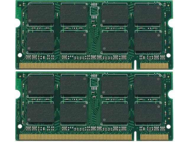 Hot 4GB 2X 2GB IBM ThinkPad T61 Memory DDR2 200-Pin SODIMM Unbuffered Non-ecc shipping from US