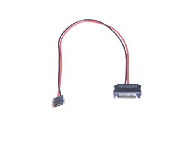 New 6 Pin Slimline SATA 15 Pin SATA Power Cable