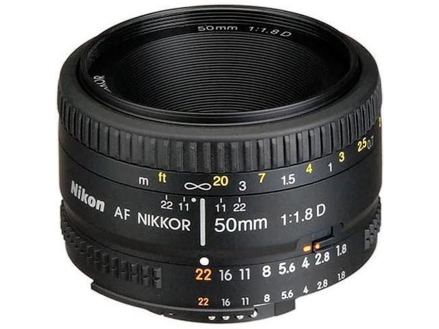NEW Nikon Normal AF Nikkor 50mm f/1.8D Autofocus Lens