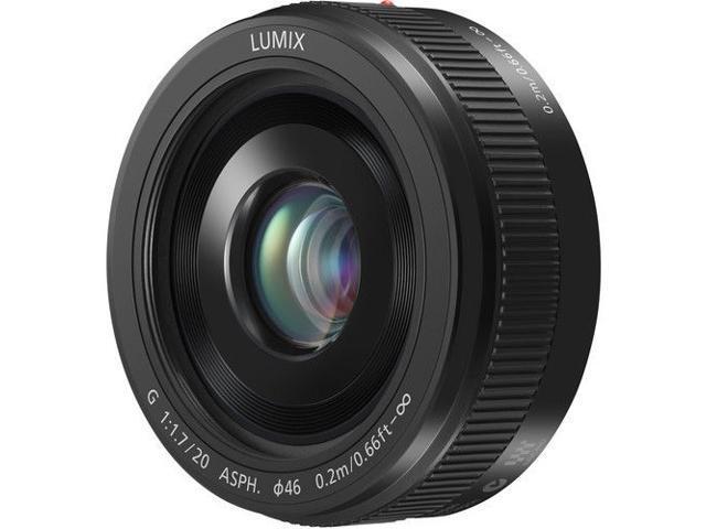 Panasonic LUMIX G 20mm f/1.7 II ASPH Lens Black)