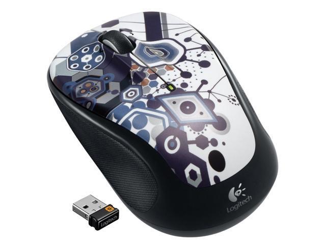 New Logitech M325 Wireless Mouse (Fusion Party) w/Nano USB Receiver
