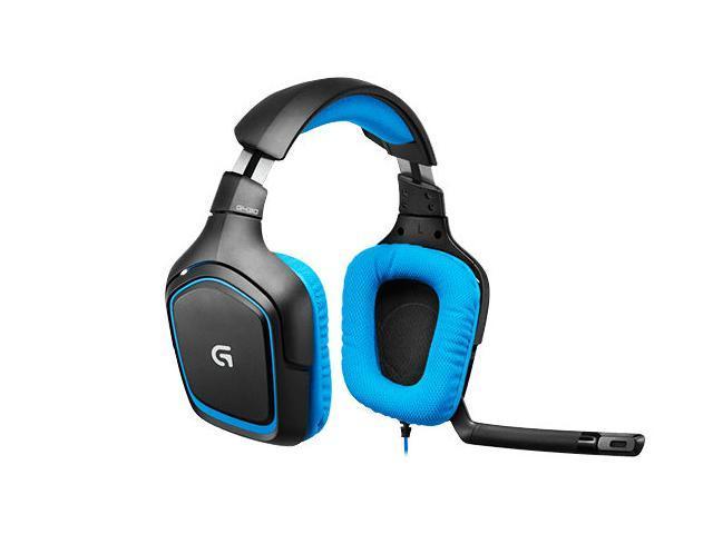 Logitech G430 Surround Sound Gaming USB Wired Headset 981-000536 New