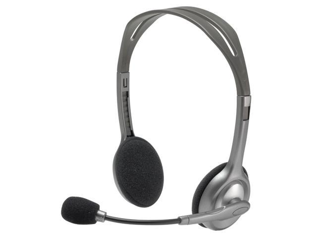 New Logitech H110 Stereo Headset with Microphone for PC & Mac