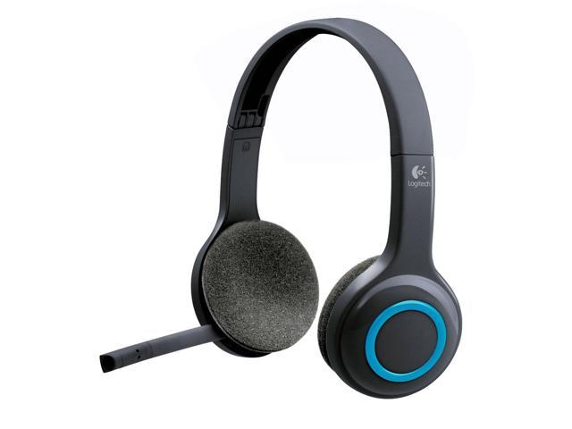 Logitech H600 Wireless Headsets Over Head Design