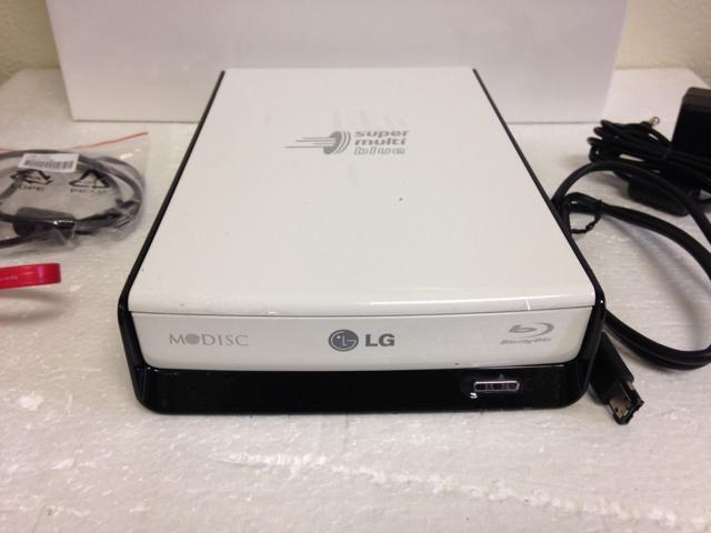 New eSata USB 2.0 External 12x Blu Ray Burner Player Lightscribe For PC MAC