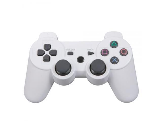New White Wireless Bluetooth Controller for PS3 / PC