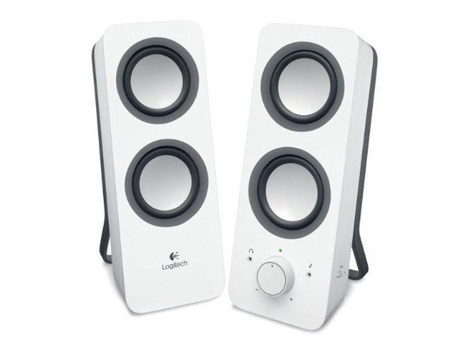 Logitech Z200 Multimedia Speakers - White