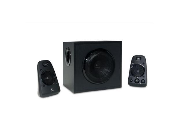 Logitech Z623 Speaker System - 200-Watts RMS, THX Certified, RCA, AUX In, Integr