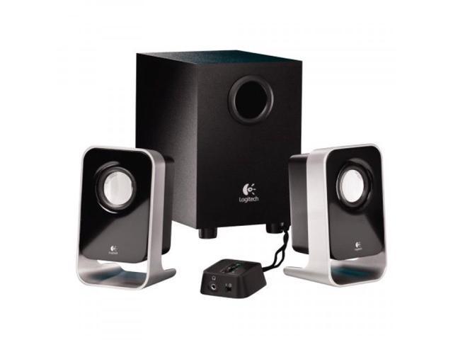 New Logitech 2.1 Stereo Speaker System LS21,