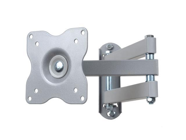 VideoSecu Tilt Swivel Articulating Arm Full Motion TV Wall Mount Bracket for most 15-29 inch LCD LED Monitors - Quick Release BA2