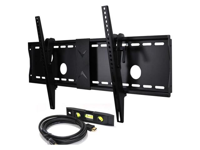 VideoSecu Tilt TV Wall Mount for Samsung 32 37 39 40 43 46 48 50 51 55 58 60 64 65 75 inch UHD LED ...