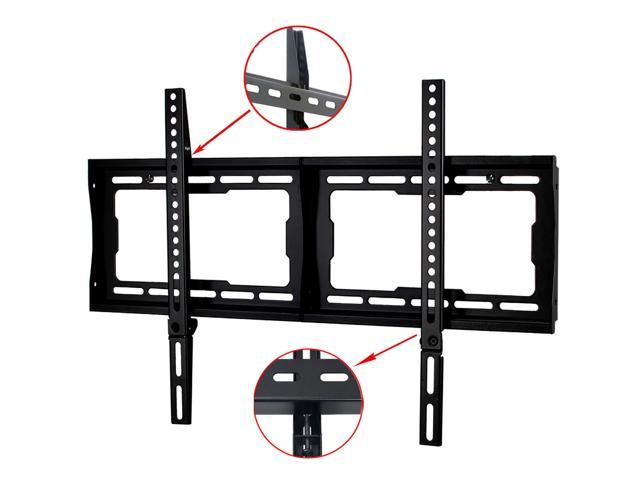 VideoSecu Fixed TV Wall Mount for 26-65 inch LED LCD Plasma UHD with loading 165lbs, VESA 600x400/ 400x400, Low Profile Heavy Duty Bracket 1NN