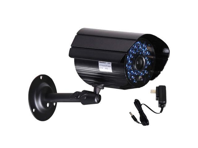 VideoSecu Outdoor Indoor Weatherproof Security Camera Infrared Day Night Vision 36 IR LEDs with Power Supply for Home CCTV Surveillance DVR ...