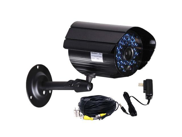 VideoSecu Outdoor Indoor Weatherproof Security Camera Infrared Day Night Vision 36 IR LEDs with Power Supply and Cable for Home CCTV Surveillance ...