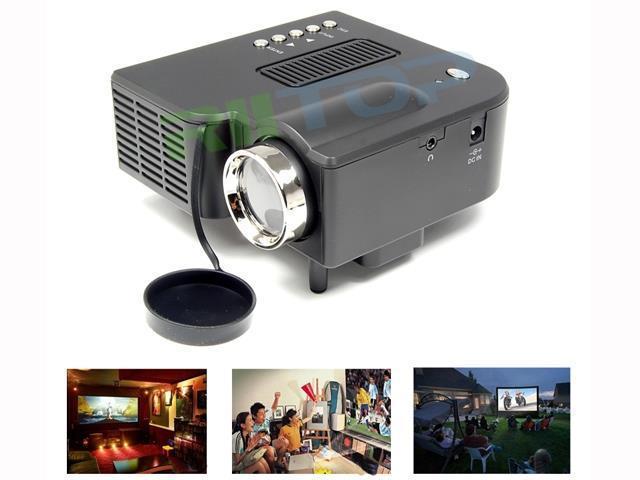 Mini Portable LED Projector Home Theater Cinema Projetor Proyector Full HD 1080p HDMI AV VGA USB SD 48 Lumens PC Laptop