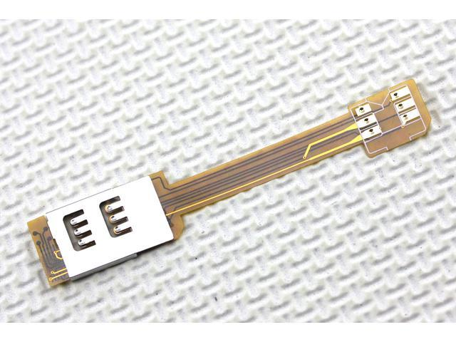 Worth while Dual SIM Card Double SIM Adapter Supported GSM/3G For iPhone 4S