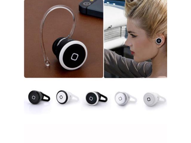 Bluetooth Headset Headphone Earphone Monaural For Samsung LG HTC