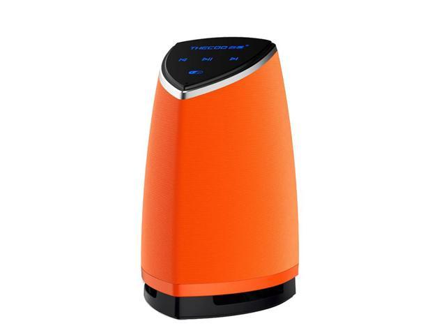 Thecoo 527 Portable Wireless Super Bass Stereo Bluetooth Speaker for iPhone Tablet PC Orange