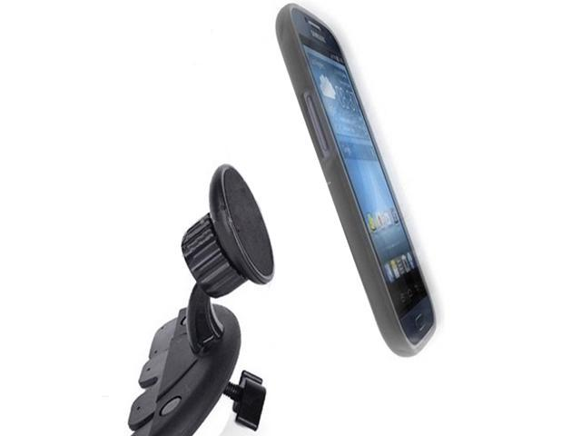 Magnetic Car CD Slot Mount for Smartphones cellphone,Gps,iPad,Tablet Cradle-less holder with Quick-snap technology(ships from USA)