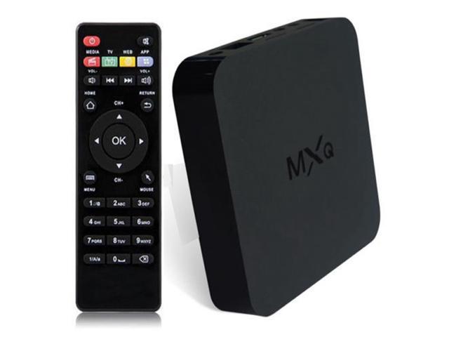MXQ Kodi 1080P QUAD CORE 4.4 Android Smart TV BOX 4K Media Player Full Loaded
